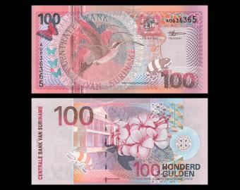 Surinam, P-149, 100 gulden, 2000