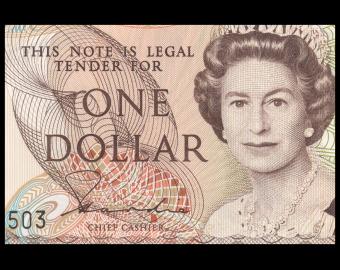 Nouvelle Zélande, P-169a, 1 dollar, 1981