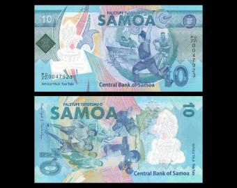Samoa, P-45, 10 tala, 2019