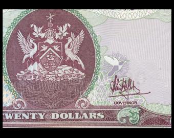 Trinidad & Tobago, P-49c, 20 dollars, 2006