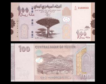 Yemen, P-37, 100 rials, 2018