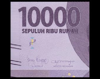 Indonesia, P-157d, 10 000 rupiah, 2018