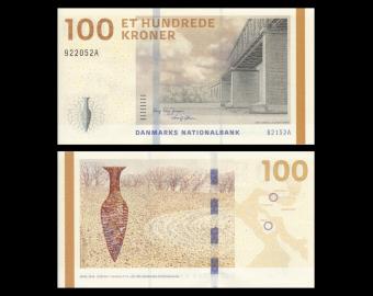 Danemark, P-66d1, 100 kroner, 2015