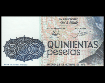Espagne, P-157, 500 pesetas, 1979