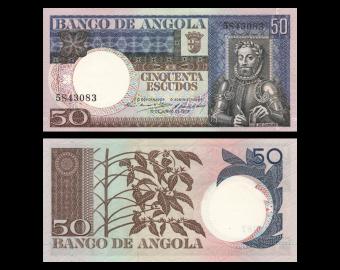 Angola, P-105, 50 escudos, 1973