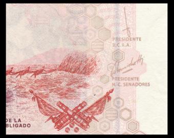 Argentina, P-355c, 20 pesos, 2003