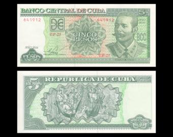 C, P-116p, 5 pesos 2016