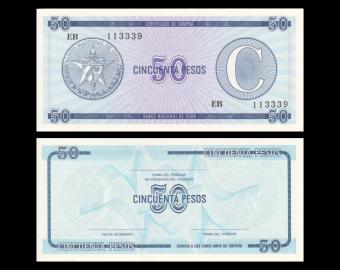 C, P-FX24, 50 pesos