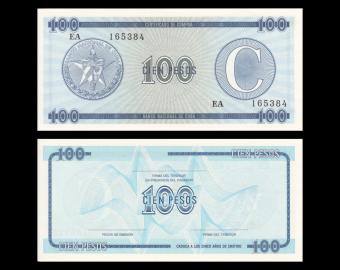 C, P-FX25, 100 pesos