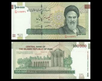 I, P-151d, 100 000 rials, 2010