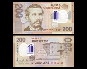 Albanie, P-new, 200 leke, 2017