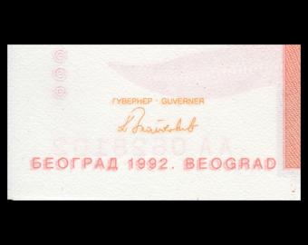 Yougoslavie, P-114, 1 000 dinara, 1992