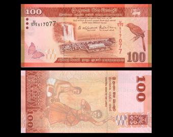Sri Lanka, P-125e, 100 roupies, 2016