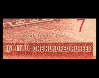 Sri Lanka, P-125e, 100 rupees, 2016