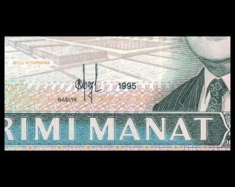 Turkmenistan, P-04b, 20 manat, 1995