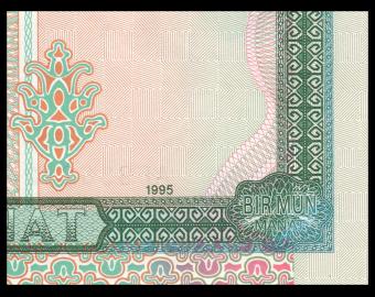 Turkmenistan, P-08, 1000 manat, 1995