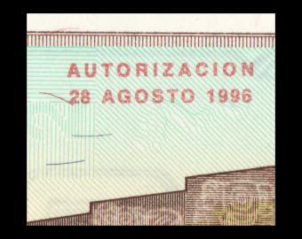 Guatemala, P-096, 0.5 quetzal, 1996