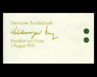 Germany, P-37, 5 Mark, 1991