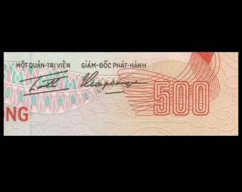 Vietnam Sud, P-33, 500 dông, 1972