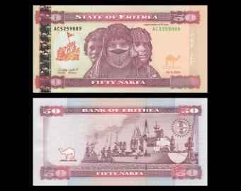Eritrea, P-7, 50 nakfa, 2004