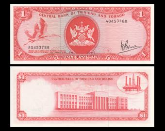 Trinidad & Tobago, P-30a, 1 dollar, L.1964