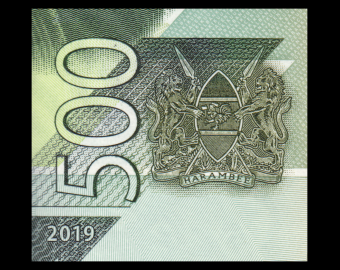 Kenya, P-New, 500 shilingi, 2019
