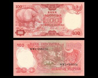 Indonesia, P-116, 100 rupiah, 1977