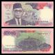 Indonesia, P-131b, 10 000 rupiah, 1993
