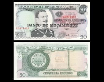 Mozambique, P-116, 50 escudos, 1976