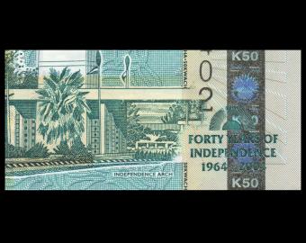 Malawi, P-49, 50 kwacha, 2004
