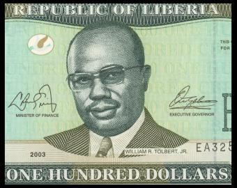 Liberia, P-30a, 100 dollars, 2003