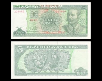 C, P-116q, 5 pesos 2017