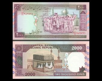 I, P-141l, 2000 rials, 1996-2005