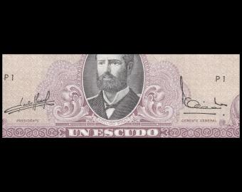 Chile, P-136a, 1 escudo, 1964