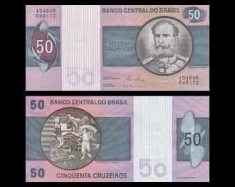Brazil, P-194c, 50 cruzeiros, 1980