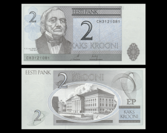 Estonia, P-85a, 2 krooni, 2006