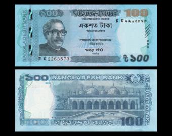 Bangladesh, P-57i, 100 taka, 2019
