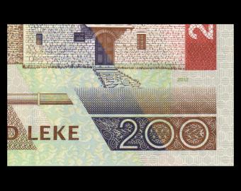 Albanie, P-71b, 200 leke, 2012