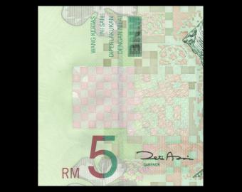 Malaysia, P-41b, 5 ringgit, 2001