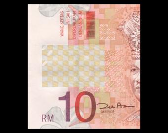 Malaysia, P-46, 10 ringgit, 2004