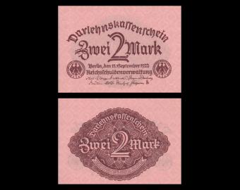 Germany, P-062, 2 Mark, 1922
