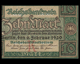 Germany, P-067a, 10 Mark, 1920