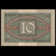 Allemagne, P-067a, 10 Mark, 1920