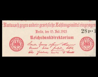 Allemagne, P-092b, 500 000 Mark, 1923