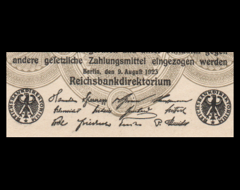 Germany, P-100b, 200 000 Mark, 1923