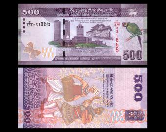 Sri Lanka, P-126e, 500 rupees, 2017