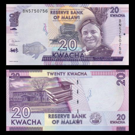 Malawi, P-63e, 20 kwacha, 2019