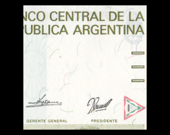 Argentina, P-328b, 500 australes, 1990