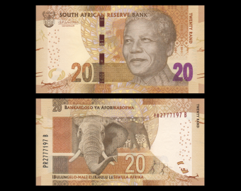 South-Africa, P-139b, 20 rand, 2016