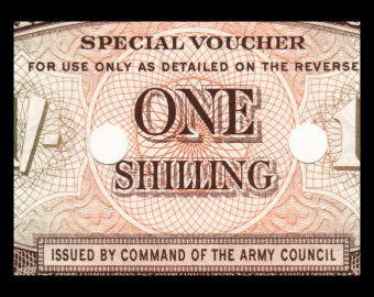 England British Armed Forces, P-M32b, 1 shilling, 1962